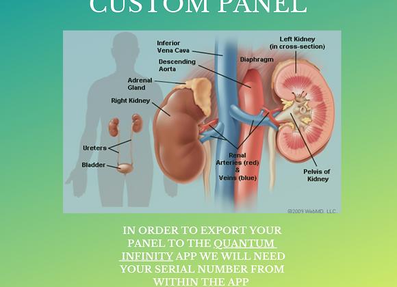 Kidney Cleanse Custom Panel
