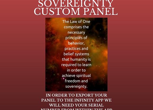 Missy Hill's Spiritual Freedom & Sovereignty Custom Panel