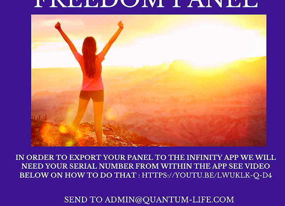 Personal Freedom Solution Panel