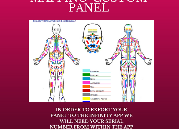 Tonya Kerrin's 'Body Mapping' Custom Panel