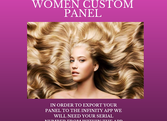Dr Lou's Hair Regrowth for Women Custom Panel for Your Quantum iNfinity!