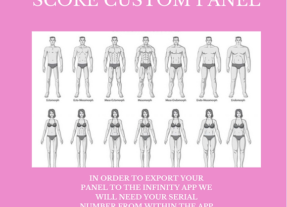 Tonya Kerrin's Body Score Custom Panel