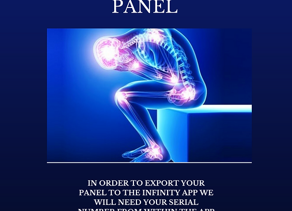 Dr Lou's Ease of Discomfort Custom Panel for Your Quantum iNfinity!
