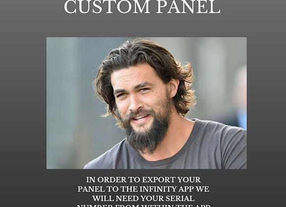 Dr Lou's Hair Regrowth for Men Custom Panel for Your Quantum iNfinity!