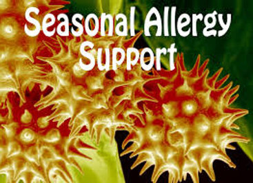 Dr Lou's Seasonal Allergy Support Custom Panel for your Quantum iNfinity!