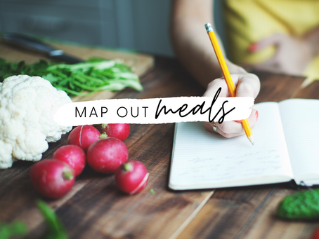 Map Out Meals