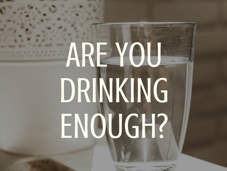 Are You Drinking Enough?
