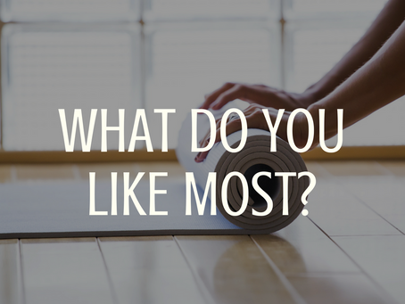 What Do You Like Most?