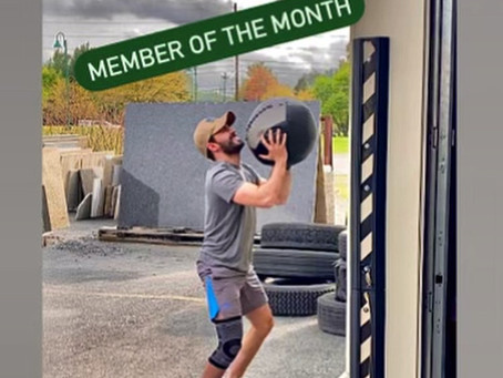 May Member of the Month - Costa