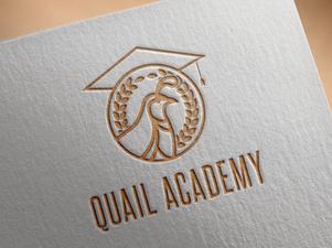 Quail Academy Logo Branding Mockup