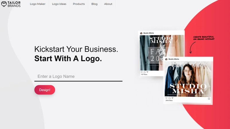How to Create a Professional Digital Marketing Logo using Tailor Brands