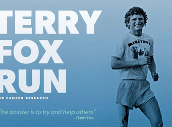 Virtual Terry Fox Run 2020