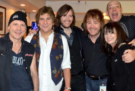 Bruce, Mario, Steve, Nige, me & Wix at The Jon Lord Memorial Concert