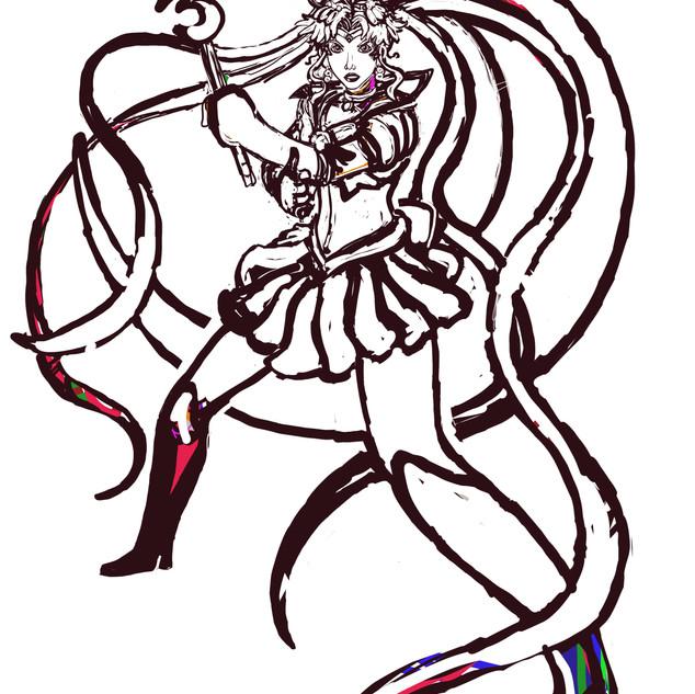 Sailor Moon Progress 3