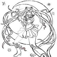 Sailor Moon Progress 6