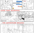 K4C Cat Comic Page 1 WIP006