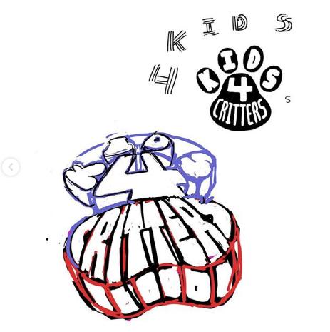 K4C Paw Logo Sketches 2