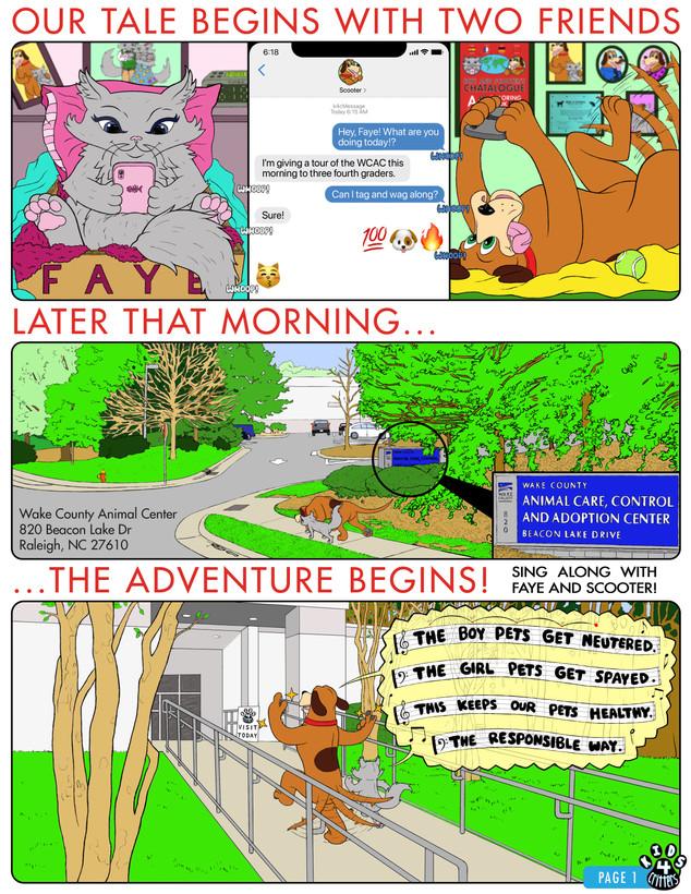 FINAL K4C Cat Comic PAGE 001