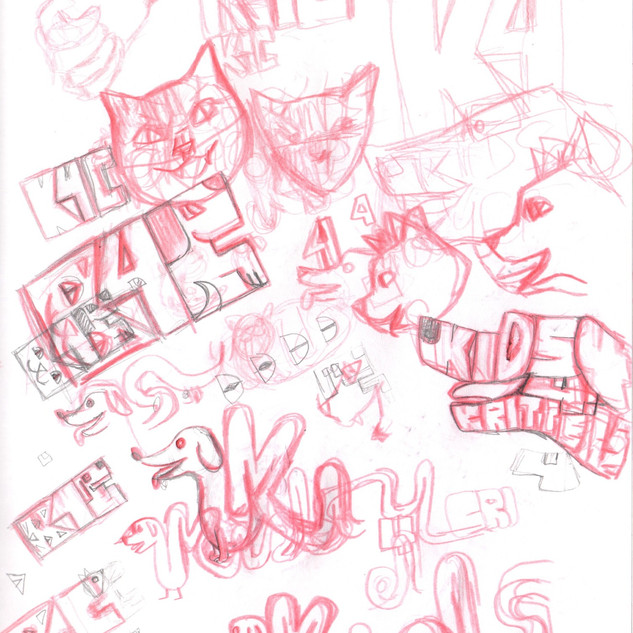 Kids 4 Critters Sketches