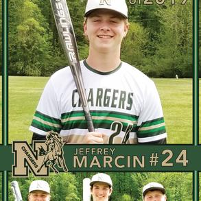 Northwood Baseball Banner Jeffrey