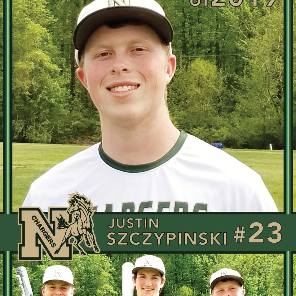 Northwood Baseball Banner Justin