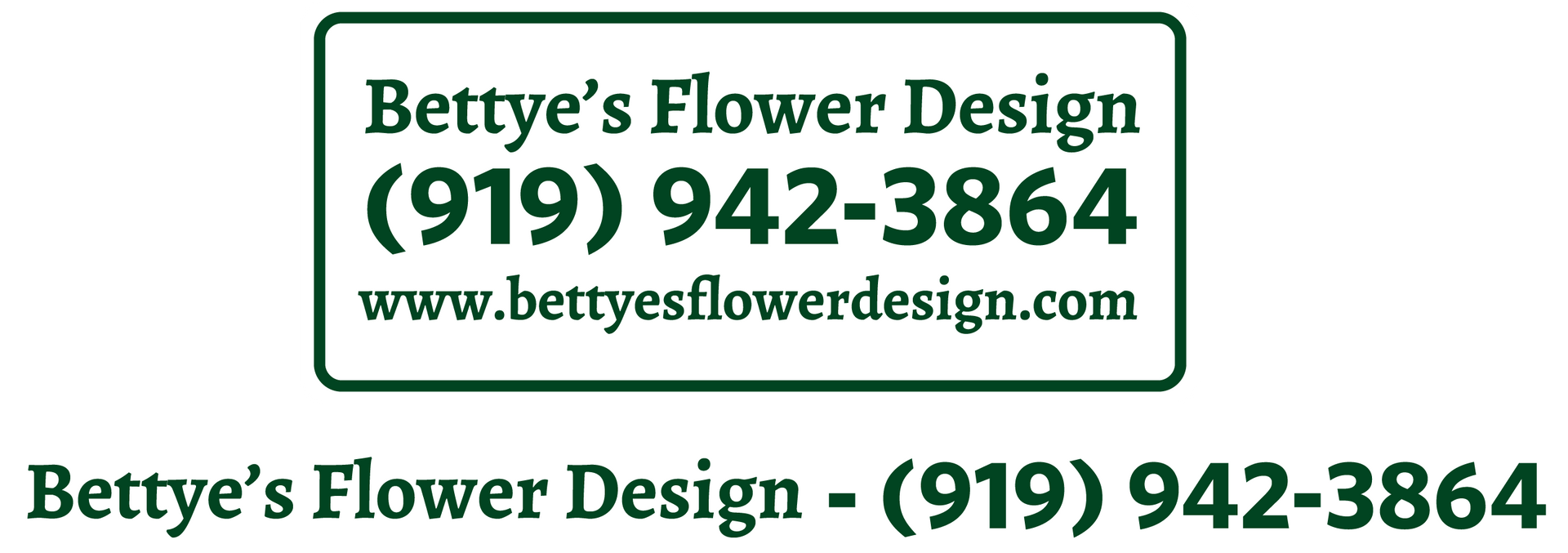 Bettye's Flower Design Magnets