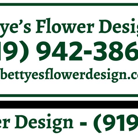 Bettye's Flower Design Magnets