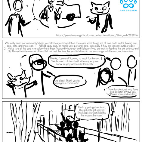 K4C Cat Comic Page 5 WIP001