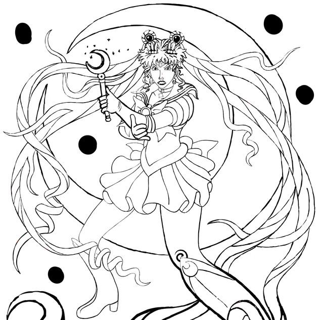 Sailor Moon Progress 7