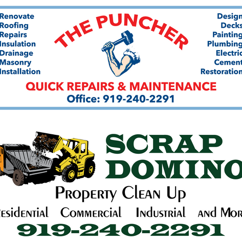 Scrap Domino and The Puncher Magnetics