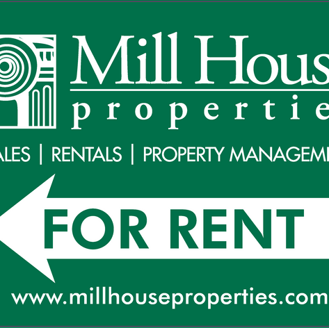 Mill House Properties Signs