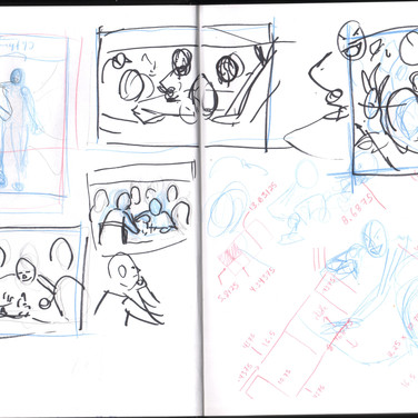 The Shop Flyer Sketches