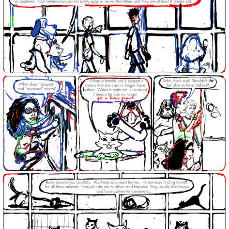 K4C Cat Comic Page 2 WIP002