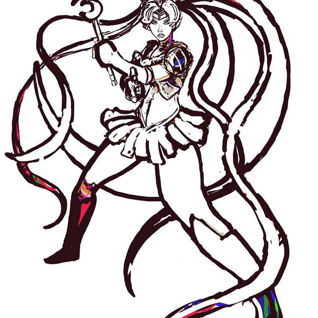 Sailor Moon Progress 2