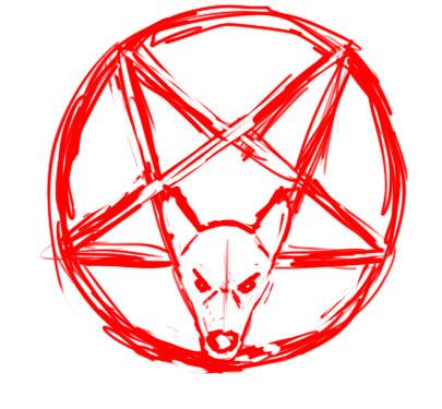 Rebel Pentagram Sleeve