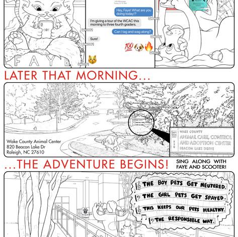K4C Cat Comic Page 1 WIP008