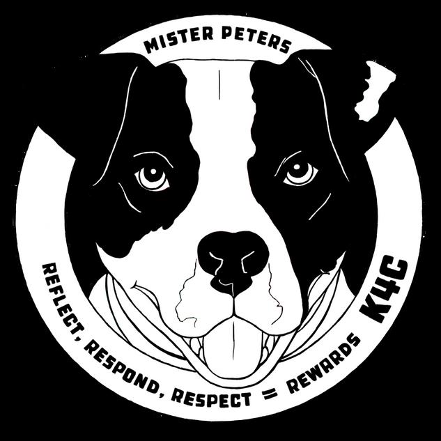 Mister Peters Logo B & W