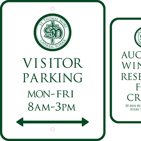 St Thomas Parking Signs
