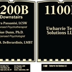 1200B and 1100F Signs