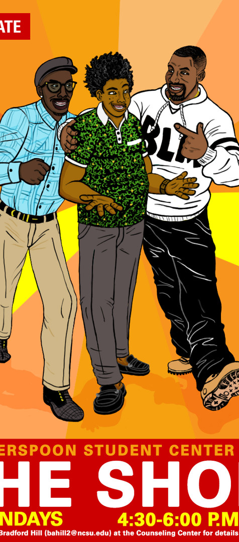 African American Cultural Center Illustration