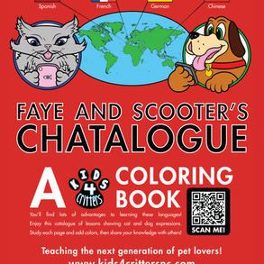 Kids 4 Critters Coloring Book