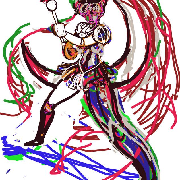 Sailor Moon Progress 1