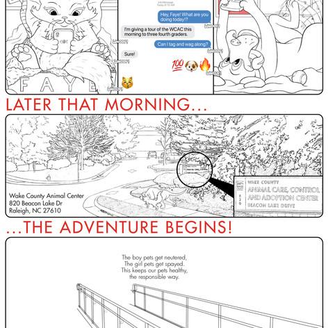 K4C Cat Comic Page 1 WIP005