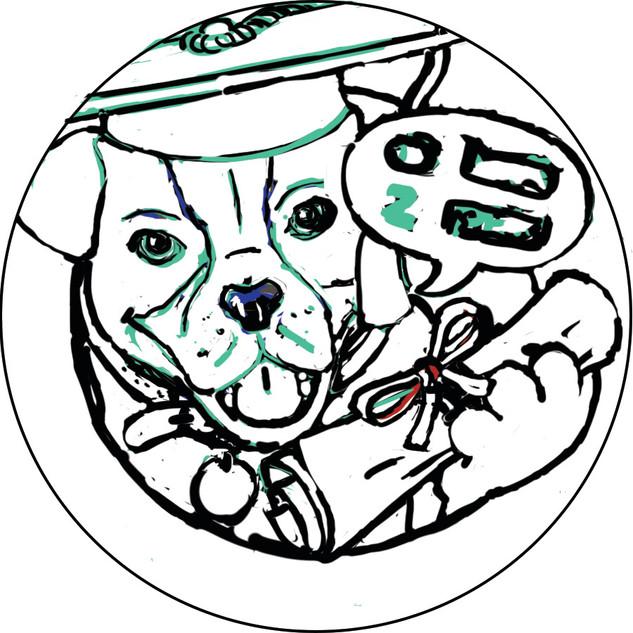 Mister Peters Folder Sticker WIP 3