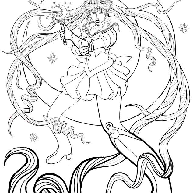Sailor Moon Progress 9