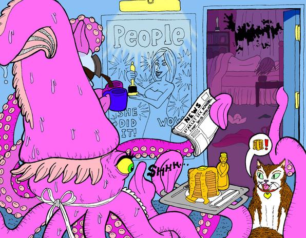 Starlet Sex Scandal, Giant Squid Involved