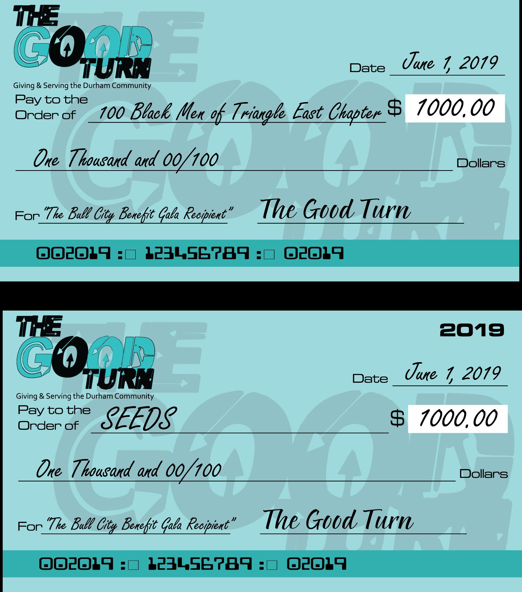 The Good Turn Checks