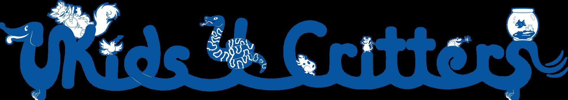 Kids 4 Critters Blue Logo