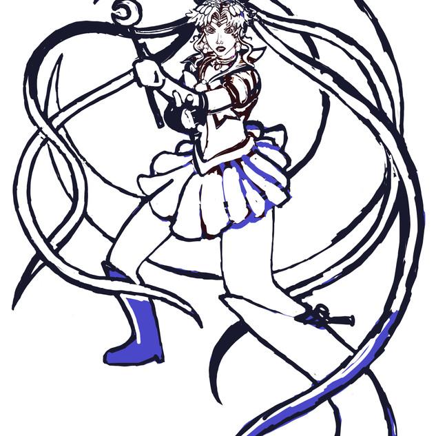 Sailor Moon Progress 5