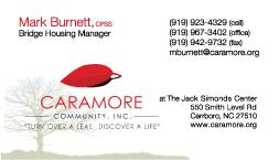 Caramore Business Card Mark